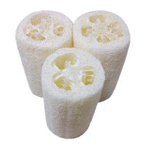 Люфа Aliexpress New Natural 1PC Organic Loofahs Loofah Spa Exfoliating Scrubber natural Luffa Body Wash Sponge Remove Dead Skin Made Soap фото