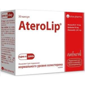 Витамины Lotos pharma Атеролип (AteroLip) для поддержания уровня холестерина фото