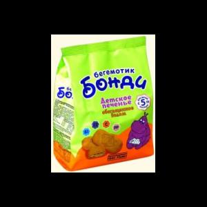Печенье детское Бегемотик Бонди с железом 200гр с 5 мес  фото