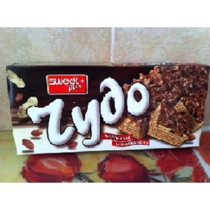 Щоколадно-вафельный торт Чудо с орехами фото