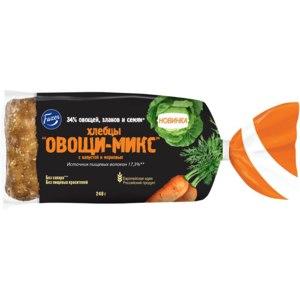 """<b>Хлебцы Fazer</b> """"Овощи-<b>Микс</b>"""" с капустой и морковью. - «Как, по ..."""