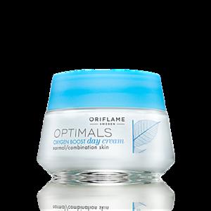 Крем для лица Oriflame Optimals Oxygen Boost Дневной для нормальной/комбинированной кожи «Активный кислород» фото