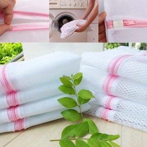 Мешок для стирки Aliexpress Wash Laundry Bag Washing Mesh Net Lingerie Underwear Bra Clothes Socks фото