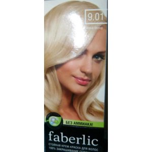 Крем-краска для волос без аммиака Faberlic Перламутровый блонд фото
