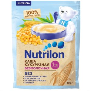 Каша Nutricia Nutrilon (Нутрилон) Безмолочная кукурузная фото