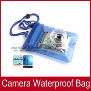 Водонепроницаемый чехол для фотоаппарата   Aliexpress Waterproof Digital Camera Pouch Case Dry Bag Phone фото