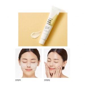 Смягчающая пилинг маска Missha SOS Peel Correct Cream mask фото