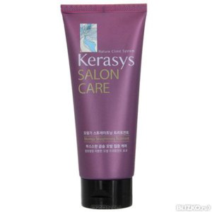 """Маска для волос KeraSys Salon Care """"Выпрямление"""" фото"""