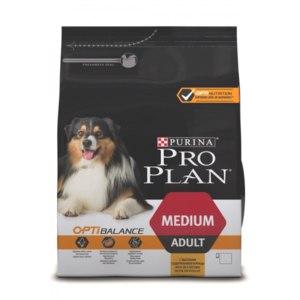 Корм для собак Purina PRO PLAN Medium Adult с комплексом OPTIBALANCE с высоким содержанием курицы фото