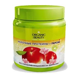 Маска для волос Organic B.U.T.Y Восстанавливающая  (Молочные протеины и персик) фото