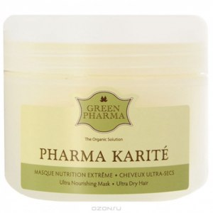 Питательная маска для волос Green Pharma Pharma Karite фото