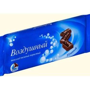 """Шоколад Kraft Foods """" Воздушный темный пористый"""" фото"""
