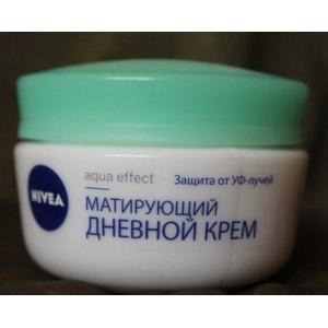 """Крем для лица NIVEA """"Aqua Effect"""" для склонной к жирности кожи фото"""