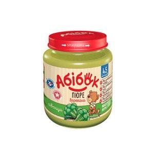 Пюре Абибок из капусты брокколи фото