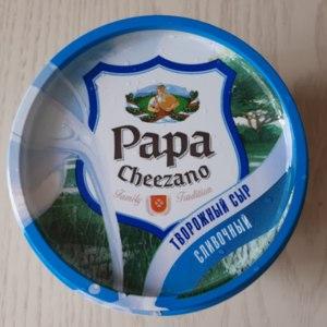 Творожный сыр Papa Cheezano Сливочный фото
