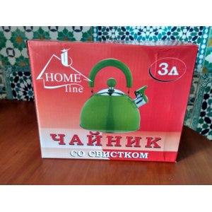 Чайник со свистком HomeLine 3л фото