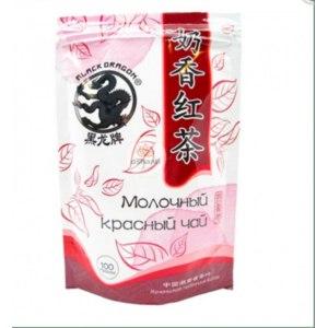 Ароматизированный чай Black DRAGON Молочный красный фото