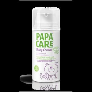 Крем детский PAPA CARE Для очень чувствительной и сухой кожи (родниковая вода Альп, экстракт альпийской розы) фото