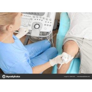 УЗИ (ультразвуковое исследование) коленного сустава фото