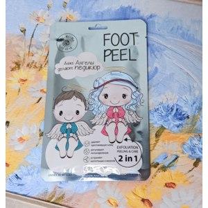 """Пилинг для ног Mi-Ri-Ne Отшелушивающая пилинг-маска для ног """"Ангельские пяточки"""". фото"""