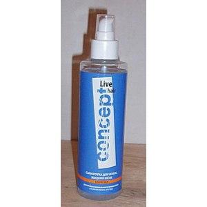 Сыворотка для волос CONCEPT Liquid silk жидкий шелк  фото