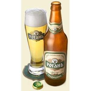 """Пиво Рогань Светлое """"Традиционное"""" фото"""