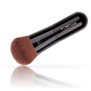 Кисть для нанесения основы Aliexpress Ducare 1PCS powder brush professional foundation makeup brush high quality make up brushes top brown Synthetic Hair фото