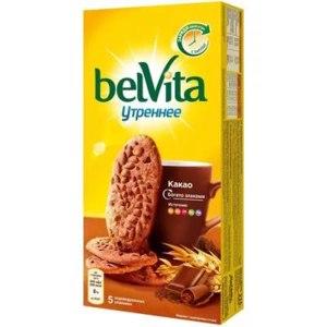 """Печенье Belvita Витаминизированное с Какао """"Утреннее""""  фото"""