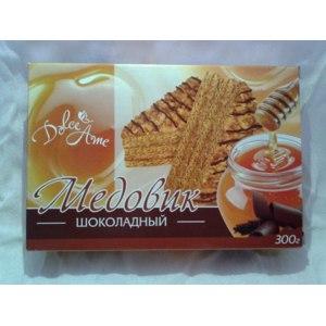 Торт Dolce ame Медовик шоколадный фото