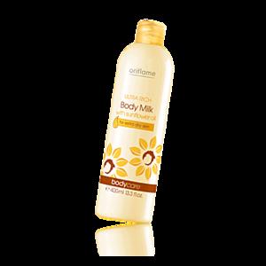 Молочко для тела Oriflame Ультрапитательное с маслом подсолнечника фото