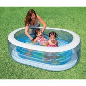 Надувной детский бассейн INTEX 57482 Овальный фото