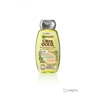 Шампунь Garnier  Ultra Doux жизненная сила прованса  эфирное масло розмарина и листья оливы фото