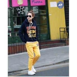 Спортивный костюм AliExpress Fashion casual sport suit, ladies Hoodie Coat Jacket Sweatshirts Warm  фото