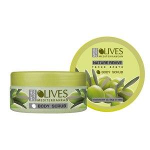 Скраб для тела Nature of Agiva Olives Mediterranean фото
