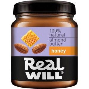 Миндальная паста Real will С мёдом фото