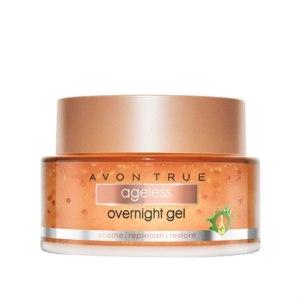 Антивозрастной ночной гель для лица Avon Смягчение, восстановление, укрепление  фото