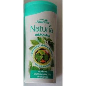 Кондиционер для волос Joanna Naturia с крапивой и зеленым чаем фото