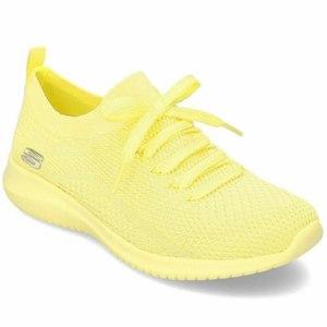 Кроссовки SKECHERS Ultra Flex yellow - Pastel Party 13098YEL фото