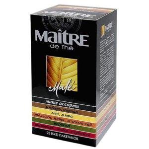 Чай  Maitre Мате ассорти фото