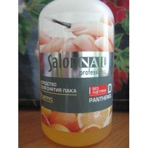 Средство для снятия лака Salon NAIL Professional фото