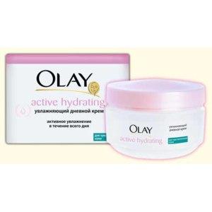 Крем для лица Olay Active Hydrating для чувствительной кожи фото
