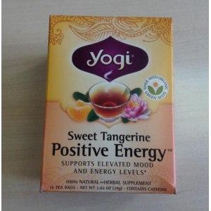 Чай в пакетиках Yogi Positive Energy фото