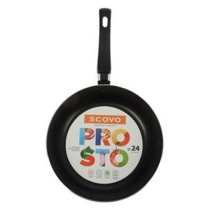 Сковорода с антипригарным покрытием Scovo 24 см Prosto фото