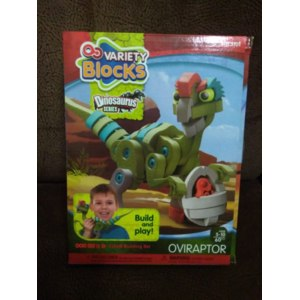 Детская игрушка конструктор из (ЭВА) Oubaoloon Variety Blocks. Dinosaurus series фото
