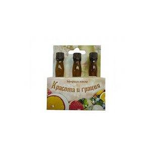 """Эфирное масло   """"Красота и грация"""" - набор: апельсин, бергамот, грейрфрут фото"""
