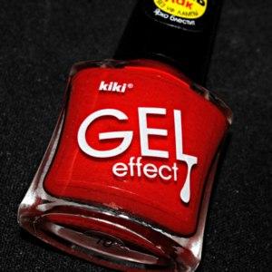 Лак для ногтей Kiki Gel effect фото