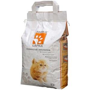 Наполнитель для кошачьего туалета Лапка - Lapka  фото