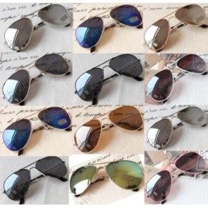 Солнцезащитные очки Ebay 14 Styles Unisex Classic Fashion Eyeglasses Outdoor Aviator Riding Sunglasses фото