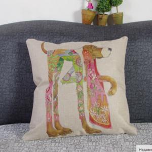 Подушка Аliexpress 2015 Fashion cartoon Cushion 45x45cm/17.7x17.7'' Linen For Sofa Decorative Throw Cotton Decor Couch фото
