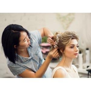 Причёски в салоне фото